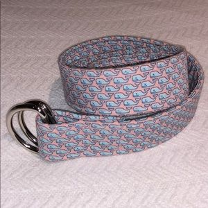 Vineyard Vines Women's Whale Belt sz Small
